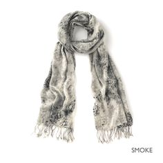 viscose scarf by The White Company, UK