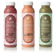 Now at Summer Blowout Prices. $2.50 per bottle (6 Packs) Suja Essentials™ Organic Juices, 12 Oz Bottles (3, 6, or 12 Pack)