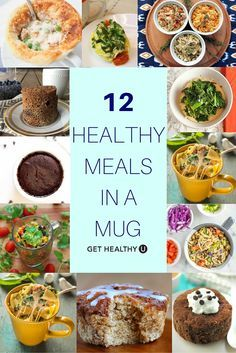 It doesn't get simpler than these healthy meals in a mug. This delicious variety take just minutes to make, but tastes like you've been cooking all day!