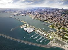 Gallery of New Haifa Waterfront Plan / Amir Mann–Ami Shinar Architects and Planners - 1