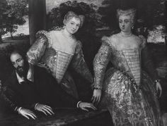 More inspiration  Jacopo Robusti (Tintoretto)  Portrait of the Pellegrina Family  Private Collection