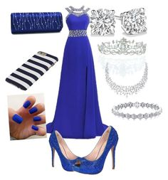 Homecoming by aliciahokanson on Polyvore featuring polyvore, beauty, Kate Marie and Lauren Lorraine