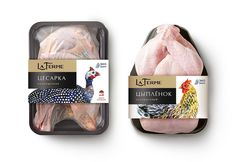 TheBestPackaging.ru – La Ferme – мясо птицы от Острова Свободы Fruit Packaging, Food Packaging Design, Packaging Design Inspiration, Packaging Ideas, Design Ideas, Protein Shop, Egg Logo, Meat And Potatoes Recipes, Meat Shop