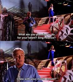 I will do whatever you want me to do, Yoda. (Miss Congeniality) (Sandra Bullock)