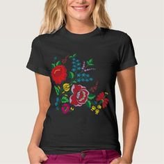 Kalocsa Embroidery T Shirts
