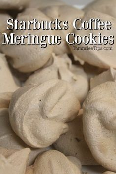 Lemon Meringue Cookies, Lemon Cake Mix Cookies, Meringue Cookie Recipe, Meringue Desserts, Macaroon Cookies, Lemon Cake Mixes, Candy Recipes, Cookie Recipes, Snack Recipes