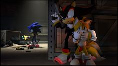 """Hostage by TheRiverKruse on deviantART - Sonic the Hedgehog - Shadow the Hedgehog - Miles """"Tails"""" Prower - My reaction: *GASP* """"Shadow, NO!"""""""