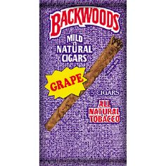 Backwoods Grape Cigars (5 Cigars) Special Price £4.19 only.