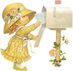gifs cliparts tubes enfants - Page 14 Sarah Kay, Illustrations, Illustration Art, Mig E Meg, Animiertes Gif, Baby Images, Holly Hobbie, Birthday Pictures, Animals For Kids