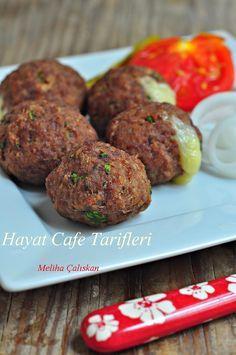 Kaşarlı Köfte | Hayat Cafe Kolay Yemek Tarifleri