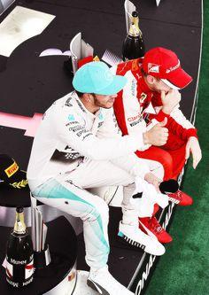 Sebastian Vettel - Lewis Hamilton