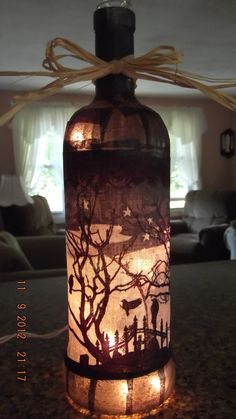 This is so awesome!--pretty sure you can do with anything... pumpkin cut-outs..Christmas trees, etc.