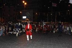 #Cadimare, #LaSpezia lo sbarco dei #pirati. Come da tradizione, migliaia di persone hanno partecipato all'evento..