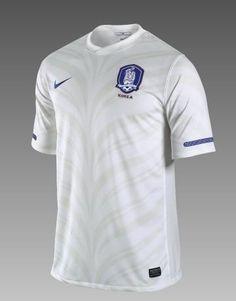 South Korea 2010 World Cup jersey