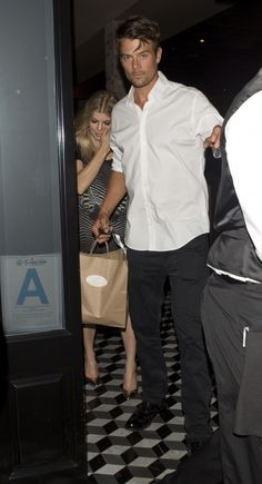 Fergie and Josh Duhamel were seen leaving Craigs Italian Restaurant in West Hollywood, CA. 8-21-2012