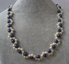 Items similar to navy blue and champagne pearl necklace,navy pearl and champagne pearl necklace, bridesmaid jewelry, mixed color pearl necklace,glass bead on Etsy Teardrop Earrings, Beaded Earrings, Beaded Bracelets, Silver Earrings, Bridal Necklace, Bridesmaid Earrings, Beaded Wedding Jewelry, Silver Jewelry, Glass Jewelry