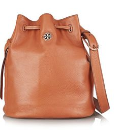 Tory Burch Brody Textured-Leather Bucket Bag
