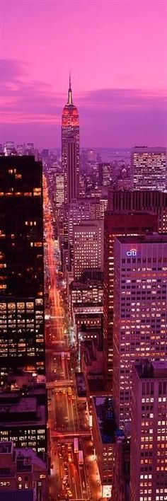 Manhattan, New York... ❤ ✿