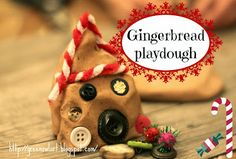Green Owl Art: Gingerbread Playdough