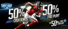 Our great friends at BetPhoenix are giving a 50% bonus for our readers for the upcoming 2017 NFL and NCAA Football Seasons!!! From now until September 7th you can take advantage of both of these bonuses. This is a top quality sportsbook with alot of betting options, a live casino and a great horse racebook.  Quick payouts and the accept Bitcoin!!! This is a very underrated online sportsbook and you need to give them a chance. This deal is for NEW & EXISTING Members.