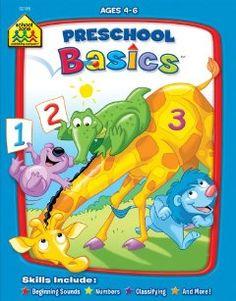 Preschool Basics: School Zone Publishing Company, Jennifer Neumann, School Zone Staff: 9781589474352: Amazon.com: Books
