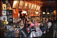 d.b.a. 618 Frenchmen Street, New Orleans, Louisiana.  Hip but not trendy Jazz club