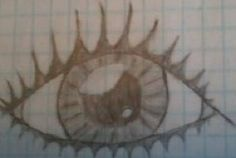One of my first attemps @ a realistic eye