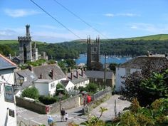 My home town in Cornwall - used to live in a house with almost the exact same view.