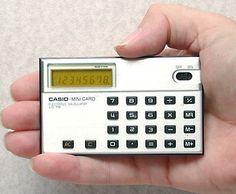 Casio Mini Card LC-78
