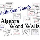 Over 110+ Concepts and Formulas from Algebra 1 and 2. Download the preview to see all the words.   Includes a clickable table of content for easier...