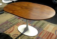 Burke oval tulip table