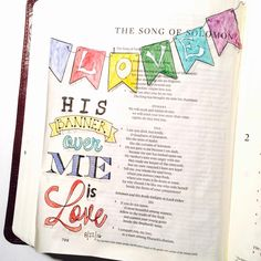 His Banner Over Me is Love. You can trace this text in your own Bible. It is located at http://wp.me/pu1EY-1hA