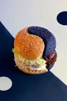 8 - Yin Yang Burger - EN IMAGES. Dix façons insolites de revisiter le hamburger - L'EXPRESS