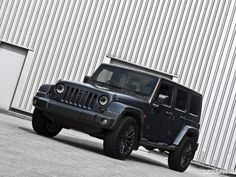 2012 A Kahn Design Jeep Wrangler Military Edition