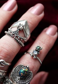 Mistress of the Road Double Stone Ring