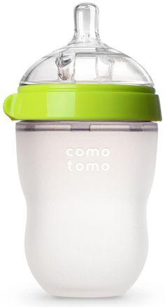 Comotomo baby bottle review by @WhatsGoodToDo.