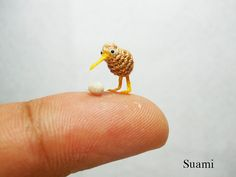 Cute Miniature Crocheted Animals by Su Ami | Bored Panda