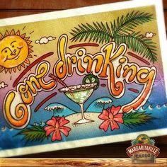 Drin King lol ♥♥♥ margaritaville beaches ocean boat drinks