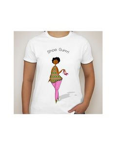 Uniquely, designed custom tshirts. These garments show female characters designed by mimicking simple shapes (lines, circles, ovals, squares triangles) to form ladies in various form.  Pick one to show how you do you!  Call for custom orders!