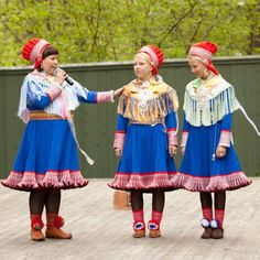 FolkCostume&Embroidery: Overview of Saami costume