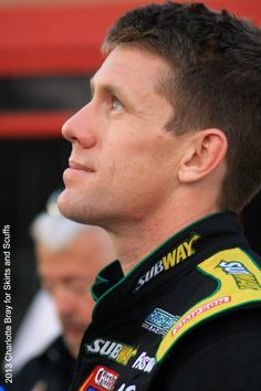 #NASCAR Photo:Carl Edwards during qualifying at Atlanta Motor Speedway- August 2013 - Credit: Charlotte Bray for Skirts and Scuffs. Additional photos at www.facebook.com/skirtsandscuffs