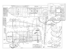 Gee Bee R-1 - plan thumbnail