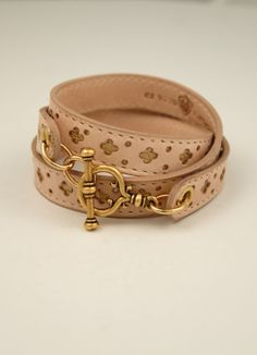 Ex Voto Vintage Jewelry Leather Wrap Bracelet