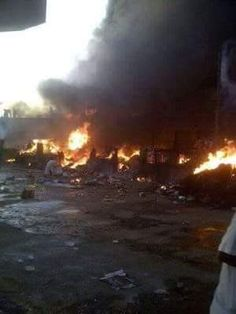 Fire Razes Over 200 Shops in #Kano Commodity Market (Photos) #Nigeria #Africa