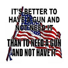 "2nd Amendment....""AMEN"" TO THIS ONE BROTHERS AND SISTERS....EVERY AMERICAN SHOULD A HAVE GUN.......GET IT NOW PEOPLE."
