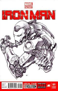 Iron Man by Harvey Tolibao *