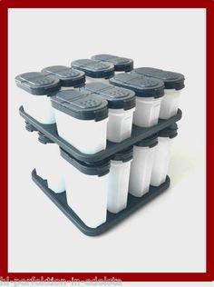 Tupperware Gewürzkarussell mit 8 Gewürzriesen und 8 Gewürzzwergen NEU OVP   eBay
