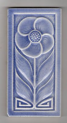 Jugendstil Fliese Art Nouveau Tile Kachel, Original