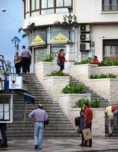 Andalucia, Malaga, Bella, Architecture Design, Portugal, Spain, Sidewalk, Staircases, Destinations