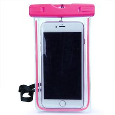 """Universal Waterproof Case For iPhone 5S 6 6S 7 Plus Samsung Xiaomi Redmi 3s Note 3 4 Pro MI5 Cover WaterProof Pouch Max 6"""" Phone"""